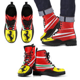 Men's Ferrari Leather Boots