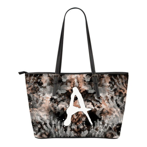 Wild Monogram Small Leather Tote
