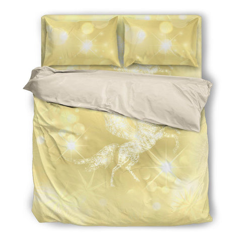 Pegasus Yellow Duvet Set