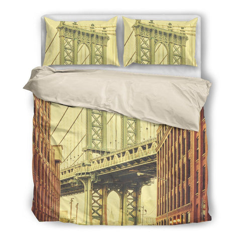 Brooklyn Bridge Duvet Set