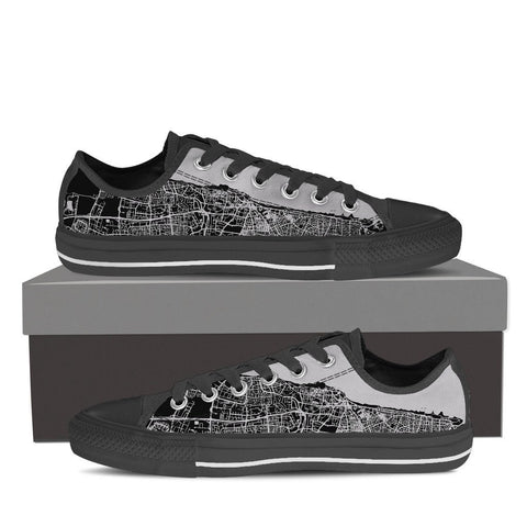 Men's Tel Aviv Map Low Top - Gray