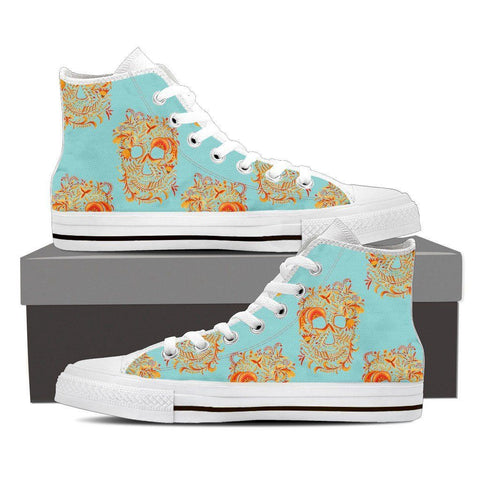 Summer Skulls Men's High Tops