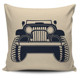 Jeep Pillow Cover