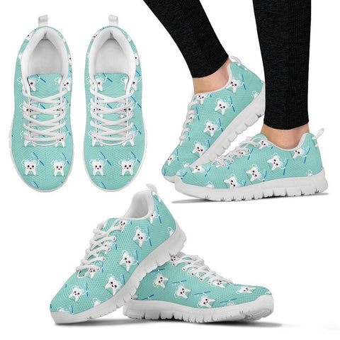 Women's Dental Dentist Tooth Sneakers