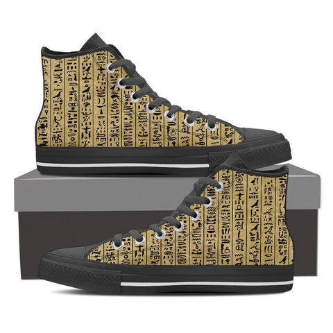 Men's Hieroglyphics High Tops