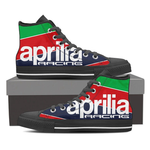 Men's Aprilia Racing High Tops - Black