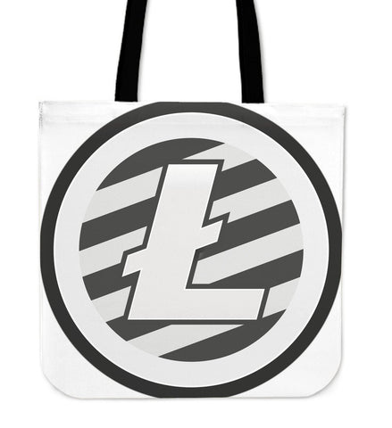 Cryptocurrency Litecoin Tote Bag | HODL On For Dear Life