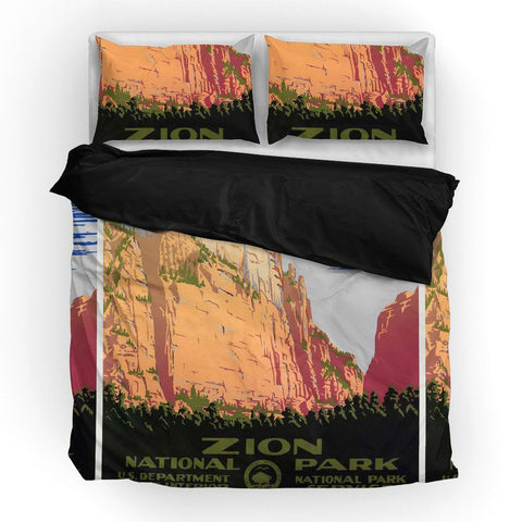Zion National Park Duvet Set