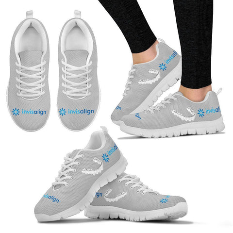 Women's Light Grey Invisalign® Athletic Shoes