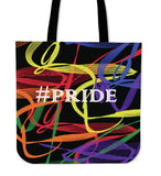 Pride Ribbon Canvas Tote