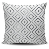 Diamonds and Triangles Pillow Cover