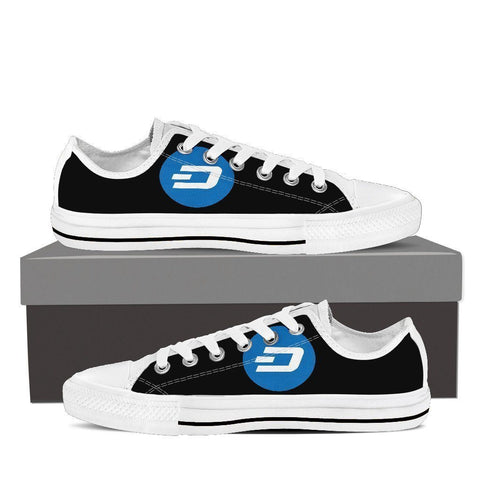 Cryptocurrency Dash Women's Low Tops | HODL On For Dear Life