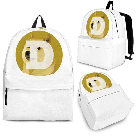 Cryptocurrency Dogecoin Backpack | HODL On For Dear Life