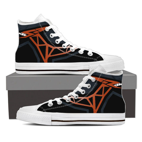 Men's KTM Inspired High Tops (white)