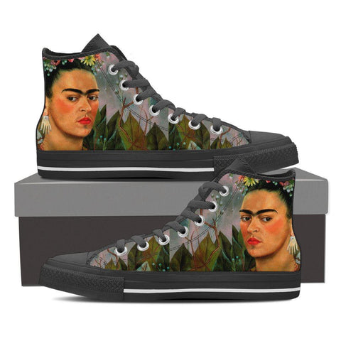 Women's Frida Kahlo Portrait High Tops