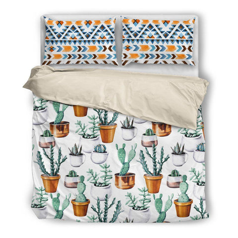 Potted Cactus Duvet Set