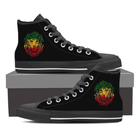 Women's Rasta Lion High Tops