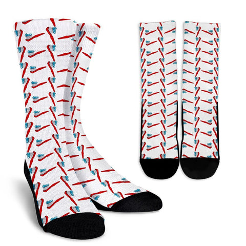 Dental Dentist Tooth Brush Socks