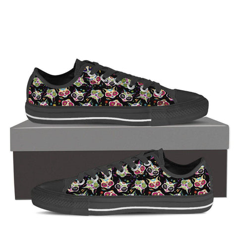 Sugar Cat Skull Women's Low Top