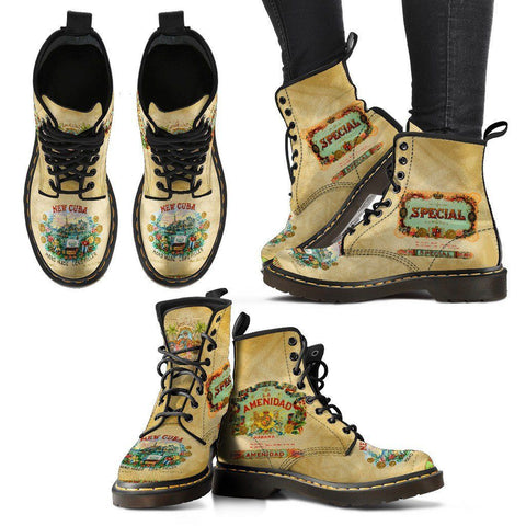 Women's Cigar Box Boots