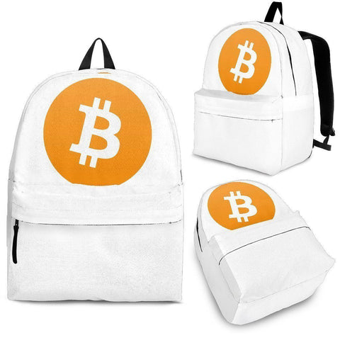 Cryptocurrency Bitcoin Backpack | HODL On For Dear Life