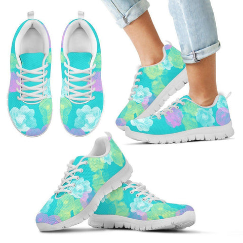 Floral Kid's Athletic Shoes