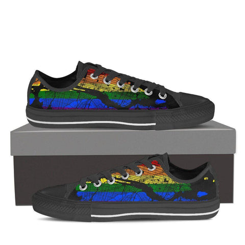 NYC Map #Pride Men's Low Top