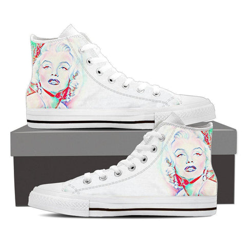 Women's Marilyn Monroe Pop High Tops