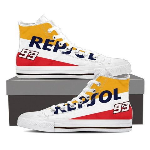 Men's Repsol Honda High Tops - White