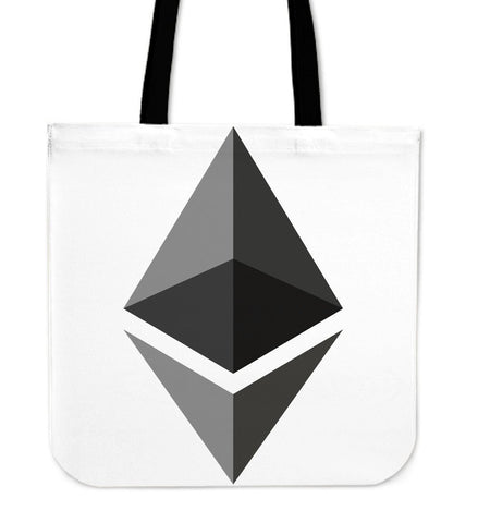 Cryptocurrency Ethereum Tote Bag | HODL On For Dear Life