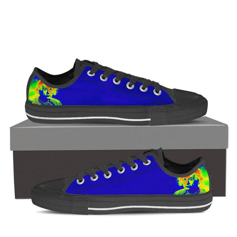 Women's Colorful Einstein Low Tops