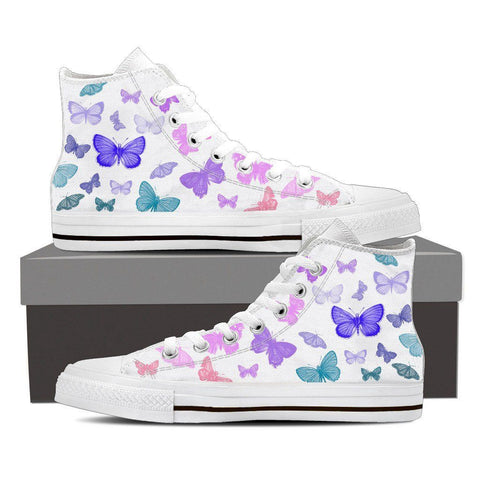 Butterfly Women's High Tops