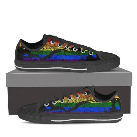 NYC Map #Pride Women's Low Top