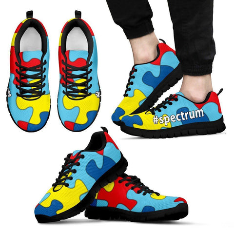 Autism Awareness #spectrum Men's Athletic Shoes