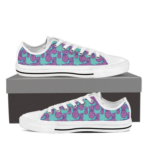 Women's Psychedelic Pineapple Low Top