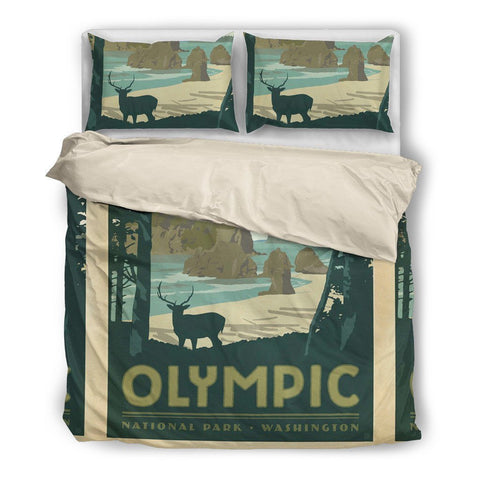 Olympic National Park Duvet Set