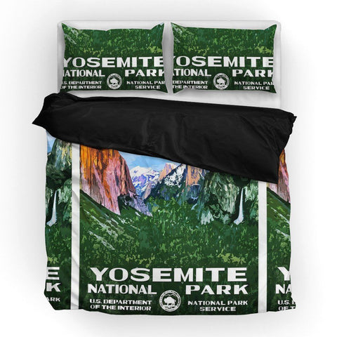 Yosemite National Park Duvet Set