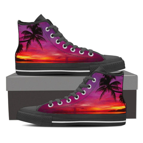 Paradise Sunset Men's High Top