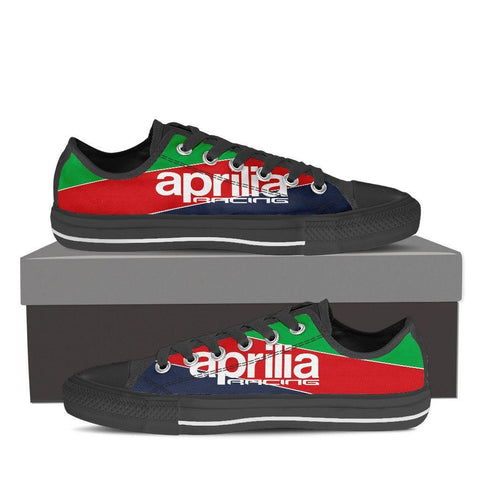 Men's Aprilia Racing Low Top - Black