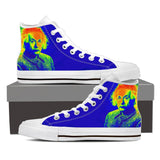 Men's Colorful Einstein High Tops