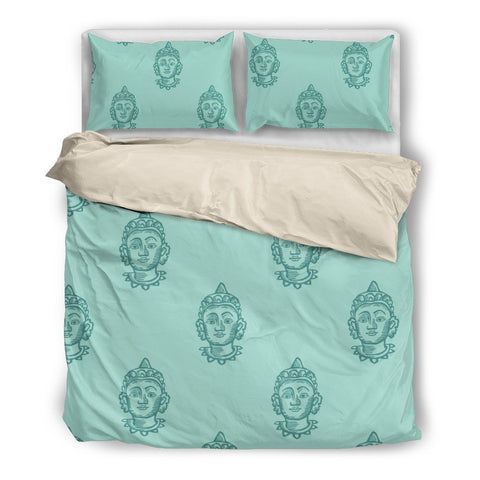Buddha Head Duvet Set