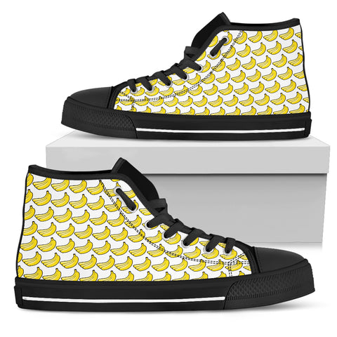 Women's High Top Shoe - Bananas