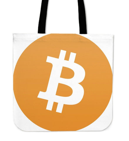 Cryptocurrency Bitcoin Tote Bag | HODL On For Dear Life