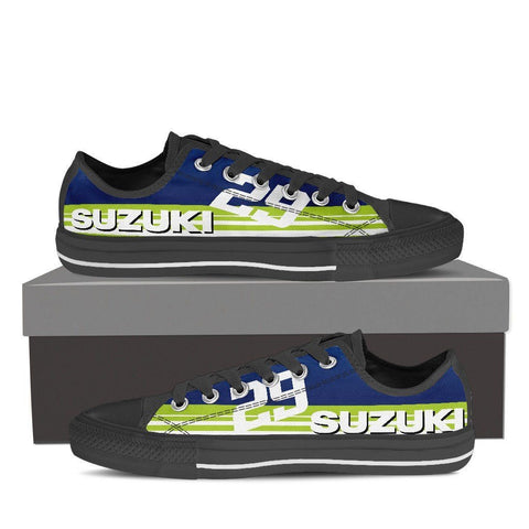 Men's Suzuki GSXR Green Low Tops
