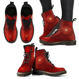 Women's Red Starburst Boots