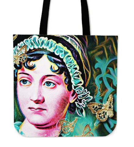 Jane Austen Canvas Tote