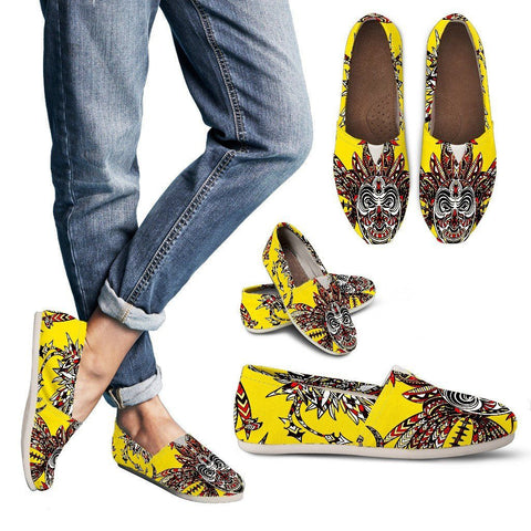 Tiki Print Women's Casual Shoe