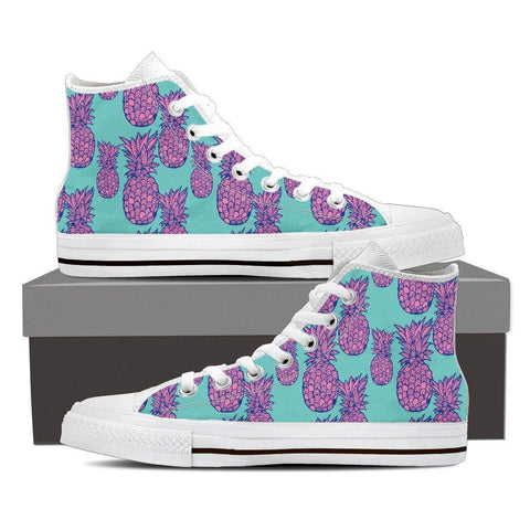 Men's Psychedelic Pineapple High Tops