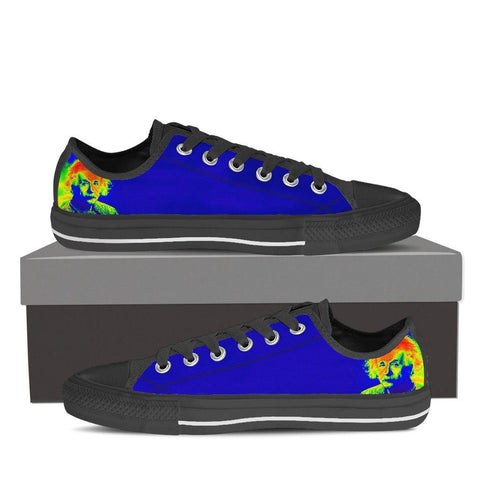 Men's Colorful Einstein Low Tops