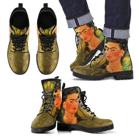 Men's Frida Kahlo Leaves Boots